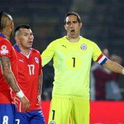 Claudio Bravo se integró a los trabajos de la selección nacional