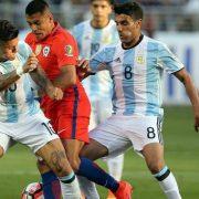Argentina prepara equipo para enfrentar a Chile