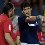 [Copa Davis] Nicolás Massú entregó nómina para enfrentar en el repechaje a Suecia